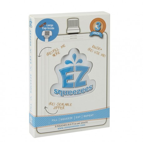 EZ Squeezees - Reusable feeding pouches