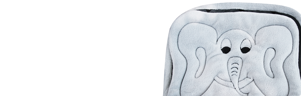 Bundle Blanket - Gray Elephant